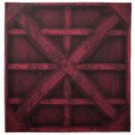 Envase oxidado - rojo - servilleta