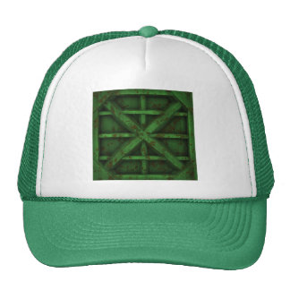 Envase oxidado - verde - gorros