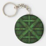 Envase oxidado - verde - llavero personalizado
