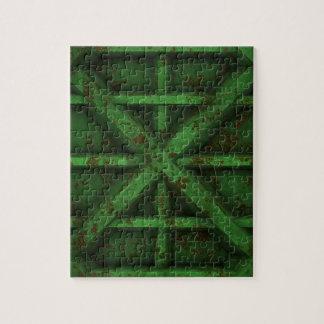 Envase oxidado - verde - puzzles con fotos