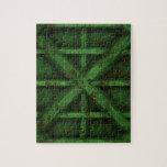 Envase oxidado - verde - rompecabeza con fotos