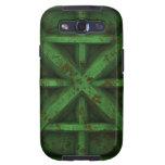 Envase oxidado - verde - samsung galaxy s3 cárcasa