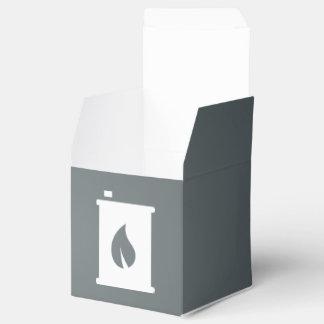 Envases de Flamable gráficos Cajas Para Detalles De Boda