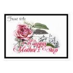 Envejecimiento agraciado - del día de madre de la tarjetas de visita grandes