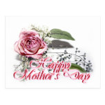 Envejecimiento agraciado - del día de madre de la postal
