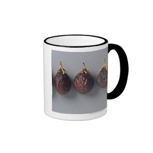 Envejecimiento de la fruta de la pasión taza de café