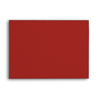 Envelope A7 Indian Red Blank