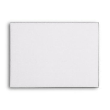 USA Themed Envelope A7 White Blank
