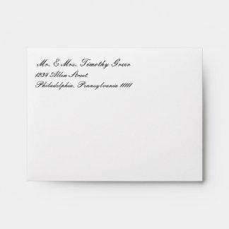 Envelope - Basic 3x5 Wedding Invites