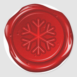 envelope christmas sealing wax classic round sticker