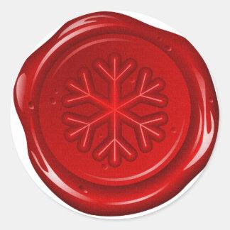 envelope christmas sealing wax round sticker