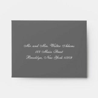 Envelope for RSVP Card Wedding