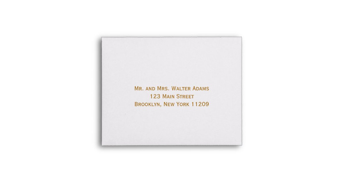 Wedding Invitations With Response Cards And Envelopes: Envelope For RSVP Card Wedding Invitation
