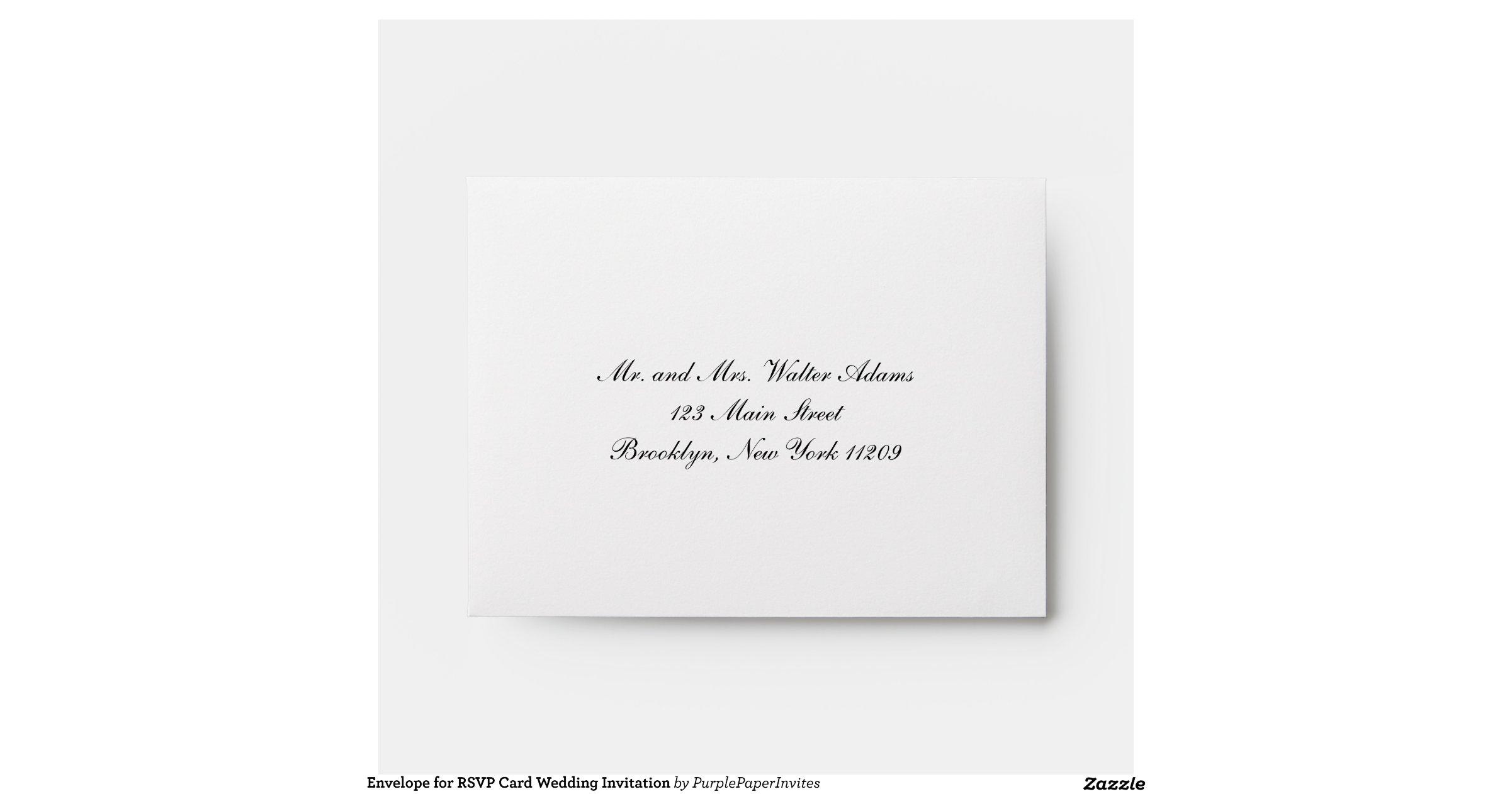 rsvp card envelope template - 28 images - gold or silver foil ...
