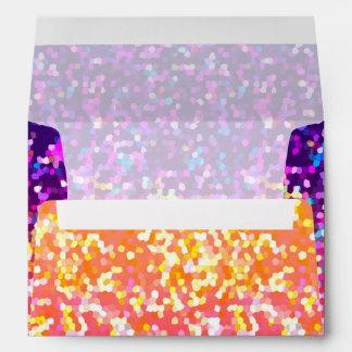 Envelope Glitter Graphic