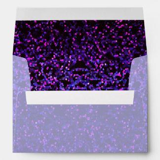 Envelope Glitter Graphic Background