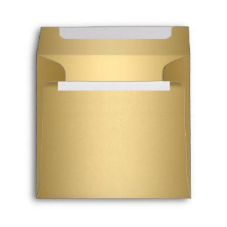 Envelope Gold Square envelope