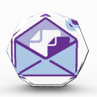 Envelope Icon vector Award