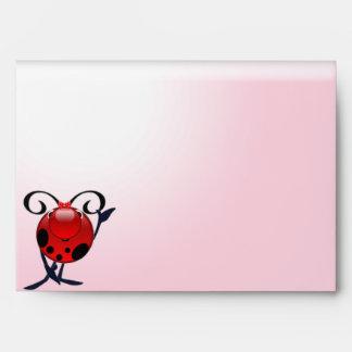 Envelope Ladybug