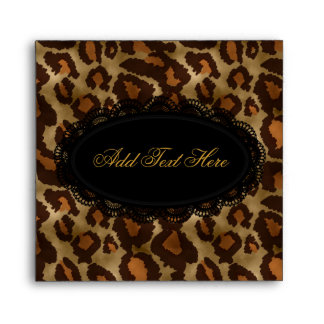 Envelope Leopard Or CD & DVD Covers