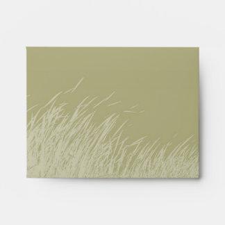 Envelope - Marsh Grass Envelope