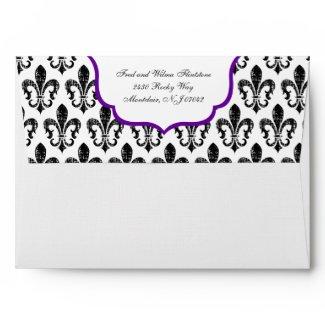 Envelope | New Orleans | Purple