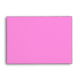 Envelope Pink and Black