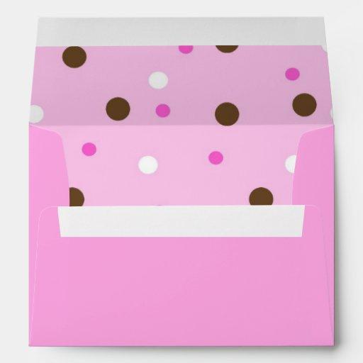 Envelope - Pink & Dots