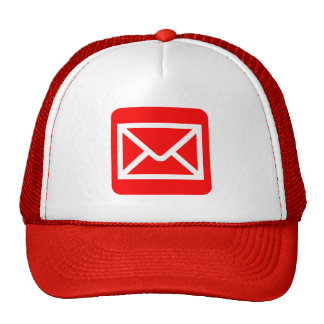 Envelope Sign - Red Trucker Hat