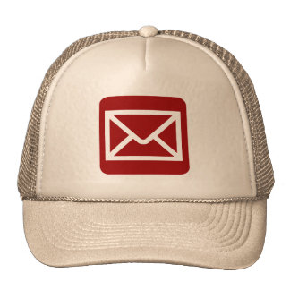Envelope Sign - Ruby Red Trucker Hat