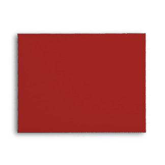 Envelope Size A2 Indian Red