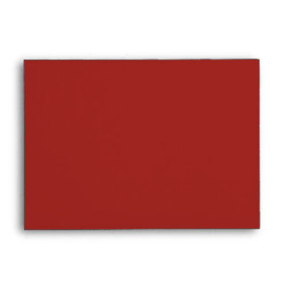 Envelope Size A6 Indian Red Blank