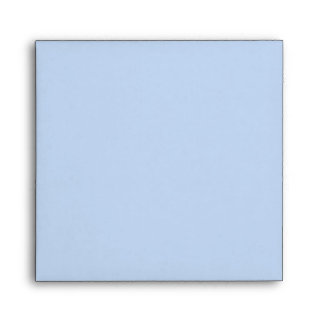 Envelope Square Baby Blue Blank