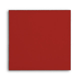 Envelope Square Indian Red Blank