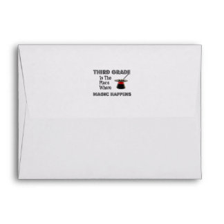 Envelope Style: A2 Note Card ThirdGradeMagic