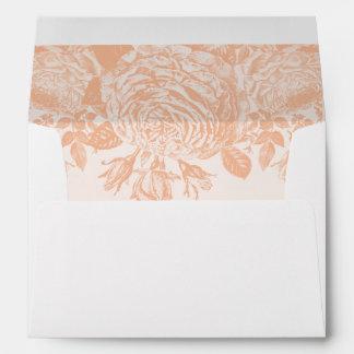 Envelope Vintage Rose Pastels: Peach Quartz