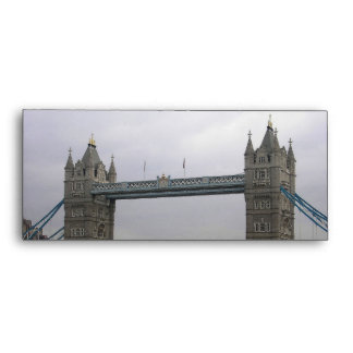 Envelope with Tower Bridge over the Thames River