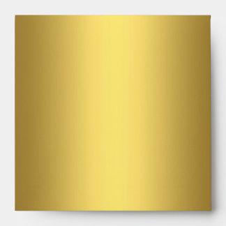 Envelope Yellow Bronze gold