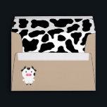 "Envelopes - Farm Animal<br><div class=""desc"">Farm animals,  cow pattern,  envelope.</div>"