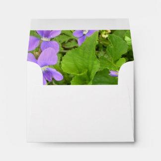 Envelopes - Herb Violets