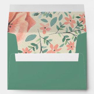 ENVELOPES | Vintage Floral Storybook Baby Shower