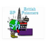 Envenenador británico tarjeta postal