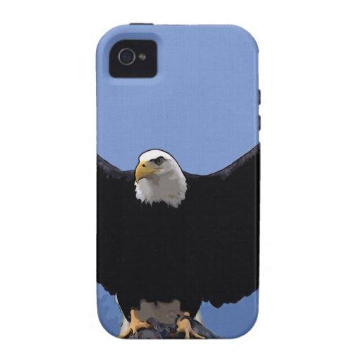 envergadura del águila calva iPhone 4/4S fundas
