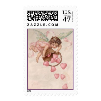 Enviando amor su manera sellos postales
