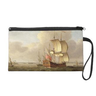 Enviando en el estuario de Thames, c.1761-66 (acei