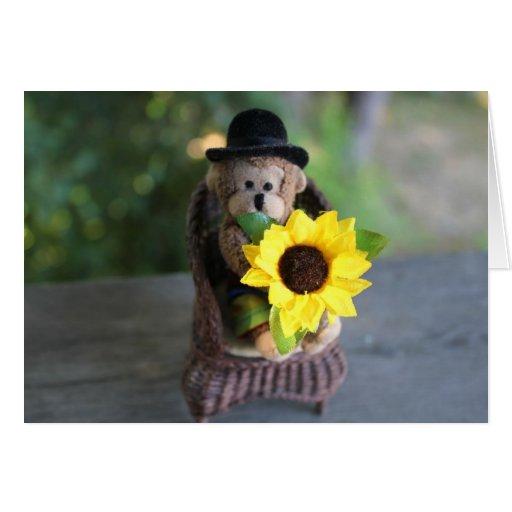 Enviándole un cierto amor tarjeta de felicitación
