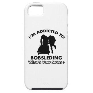 enviciado a bobsleding iPhone 5 carcasa