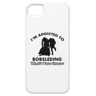 enviciado a bobsleding iPhone 5 protectores