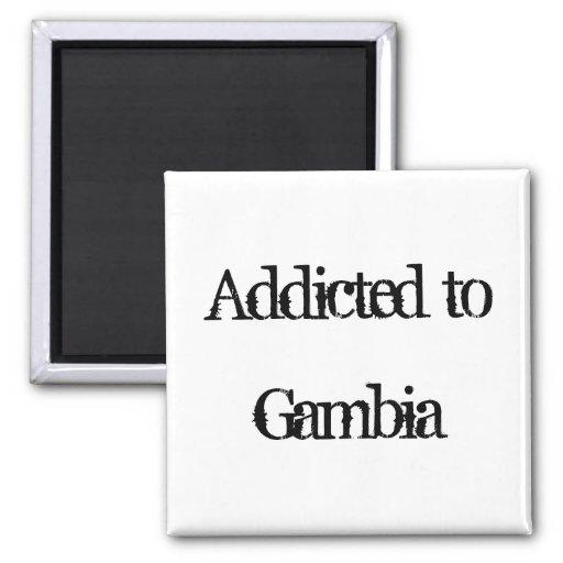 Enviciado a Gambia Imán De Frigorifico