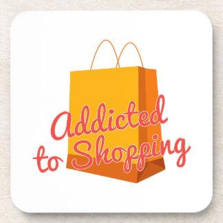 Enviciado a hacer compras posavasos